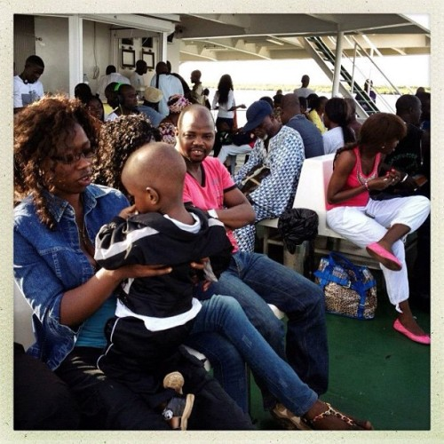 Passengers on the Dakar-Ziguinchor ferry, Senegal Nov7, 2012. Photo by Holly Pickett @hollypickettpix #senegal #ferry #transportation