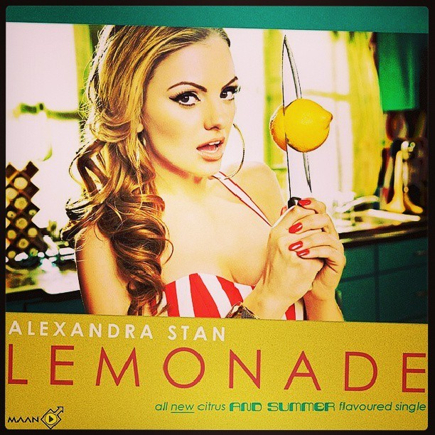 Perfect for this season !! #Lemonade #AlexandraStan #Music #Electro #Likeit ♥