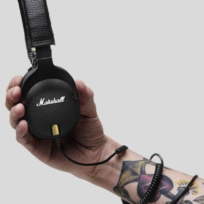 Marshall Monitor Black Headphones