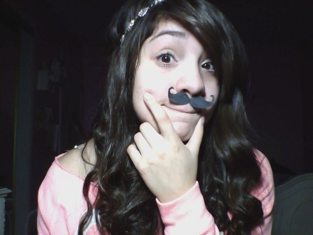MEET MY MUSTACHE !!! ……….. don't judge
