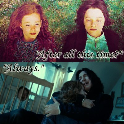 "osnapitzghebi:  ""After all this time?"" ""Always."""