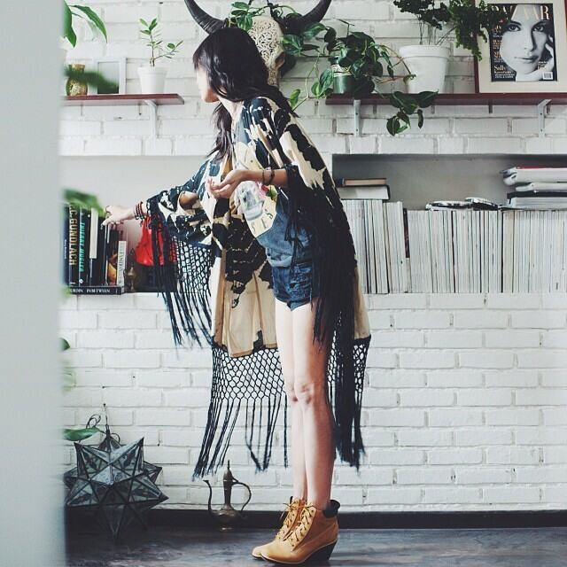 Prob one of my fave pics of our Storm Kimono (still available at @freepeople) pic via the lovely @npmalina