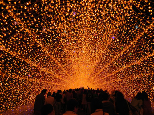 Nabano Sato Illuminations, Mie Japan