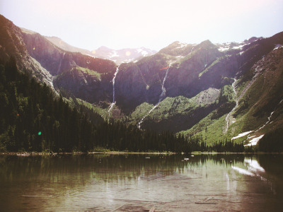 voldy92:  Avalanche Lake, Montana (by Dangerous…Dan)