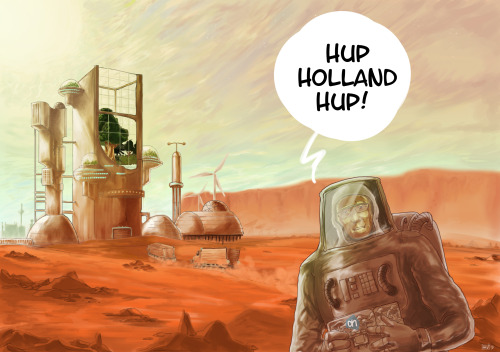 Dutch life on mars. i made this for my article as a submission to Kompetiblog2013