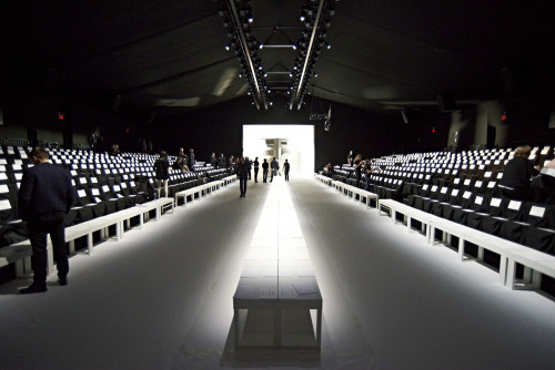 bureaubetak:  Lacoste RTW FW13 Lincoln center Saturday February 9th 2013 Produced and designed by Bureau Betak