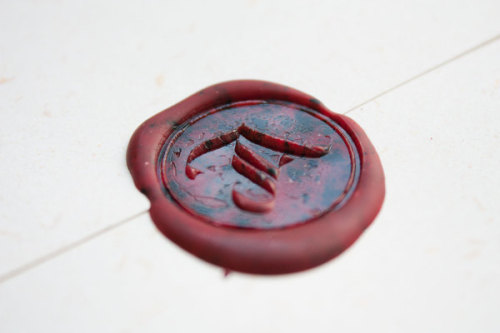 "Typeverything.com ""A"" Wax seal by Jackson Alves."