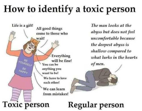 A Person Be Toxic Not To How