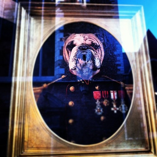 One for the living room #art #dog #funny #portrait #colonel #instagram #ig  (at Brüssel)