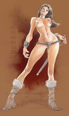bentanart:  Warrior by ~BenTanArt