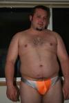 Joemerchant21 cub in orange n2n just check @bigboysshrtshorts