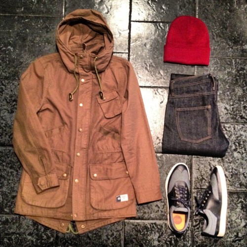 "BleeckerSt.com Men's Outfit of the Day ""All good in the hood"" #bleeckerststore"