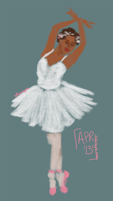 roserayne:  a ballerina for cleromancy! :)