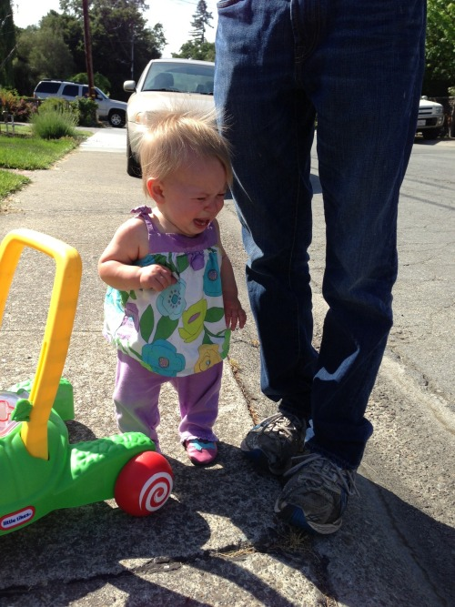 "reasonsmysoniscrying:  ""We wouldn't let her play in the street."" Submitted by: Rachel M. Location:  California, United States"