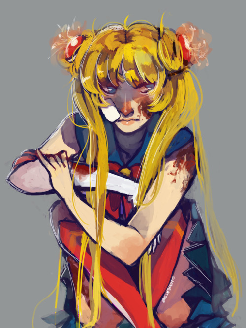 swoobats:  oh yeah i also drew a really messy picture of sailor moon i'm not even ashamed  Reasons why Nessa is a Queen amongst princesses.