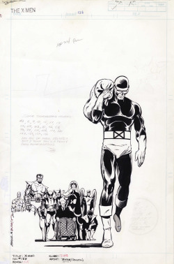 comicbookartwork:    Original Art for X-Men #138 By John Byrne
