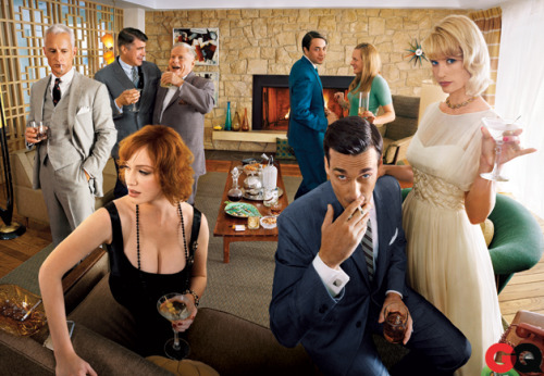 gq:  Happy Mad Men Day!