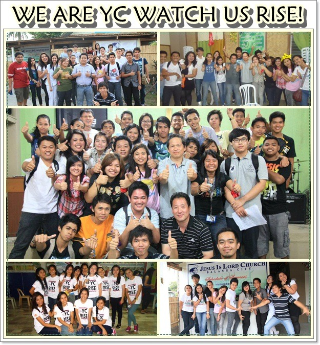 WE ARE YC. WATCH US RISE!   # CHURCHMATES.