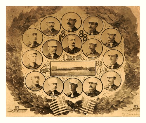 1888 Des Moines Prohibitionists TeamFrom the very early days of the old Western Association.