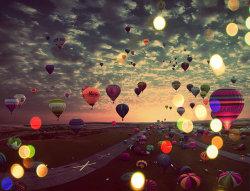 sky evening fly bonito aire cielo Vista nubes volar paisaje globos Atardecer