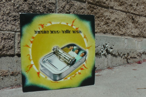 beastie boys: hello nasty - 1988 capitol records - boxed up for fedexpope - wisconsin usa - 04 / 2013 -