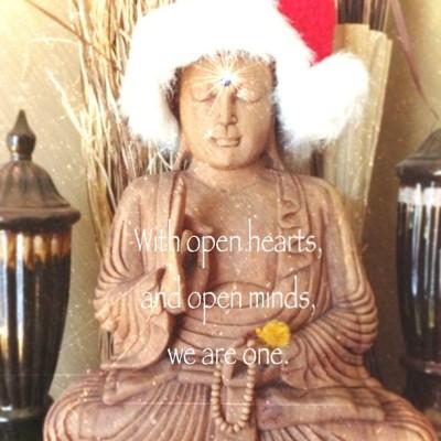 #Buddha #HappyHolidays #BlessedYule #MerryChristmas #HappyHanukkah #HolyShabeYalda #FestiveDongzhi #ImaniKwanzaa #ReverentBohdi #HolyNightToYouAndYours 🙏🙏🙏