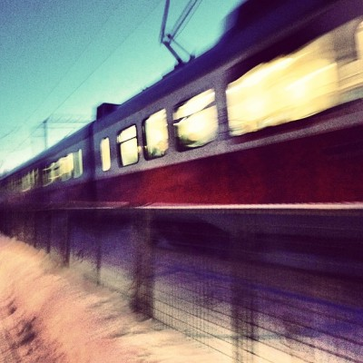 #travel #train #motion #helsinki