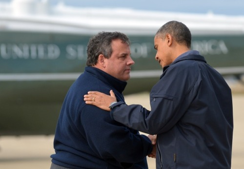Bromance of the Year: Chris Christie & Barack Obama