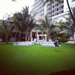50 chairs 170 guests.  (at Halekulani)