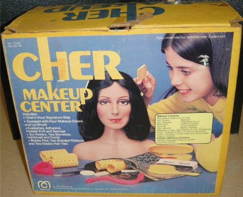 vintagetoyarchive:  MEGO: 1977 Cher Make Up Center