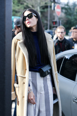 fashion paris streetstyle womenswear fashion week PFW Paris Fashion Week PFW Fall/Winter 14/15