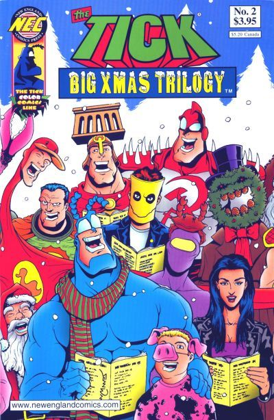 The Tick Big Xmas Trilogy  #2