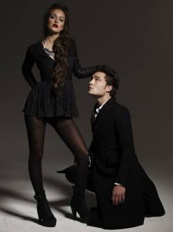 Leighton Meester and Ed Westwick :)
