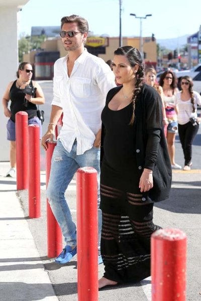 Lord Disick and Mother Kimout and about in Los Angeles on Wednesday…