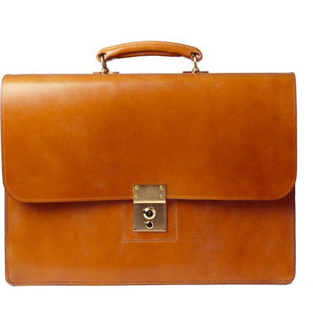 alifewellsuited:  Swain Adeney Brigg leather briefcase