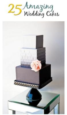 25 Amazing Wedding Cakes | via Austin Weddings
