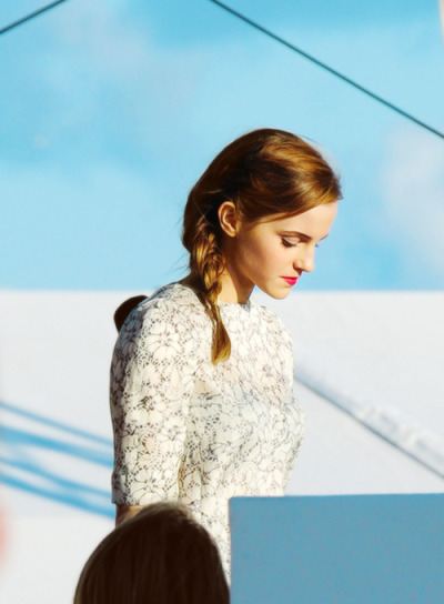 Emma Watson at The 66th Annual Cannes Film Festival (May 17th)