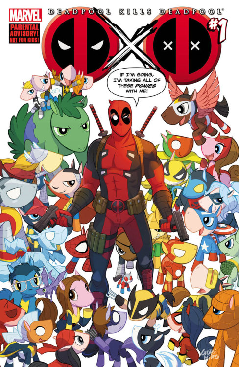 Best Deadpool cover ever.