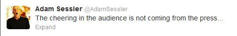 geraldmason:  Adam Sessler said this regarding Microsoft's event.