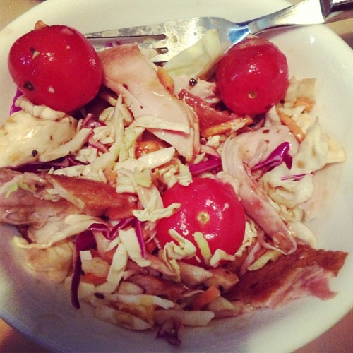-brunch! Smoked chicken salad! #noms
