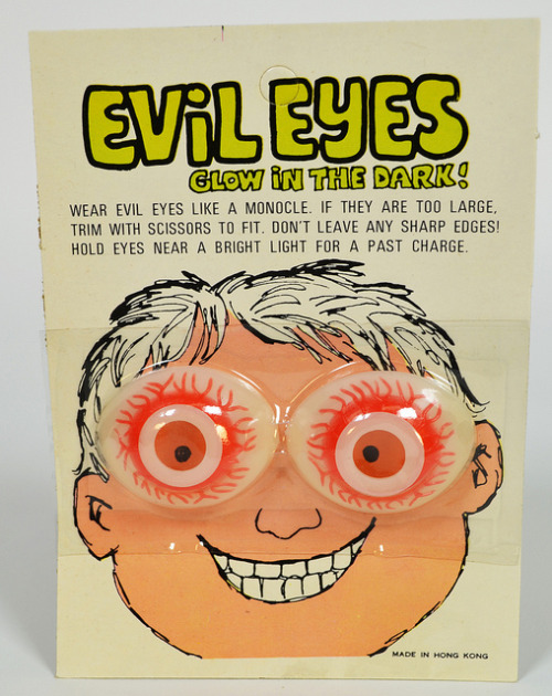 cryptofwrestling:  Evil Eyes (1970s)
