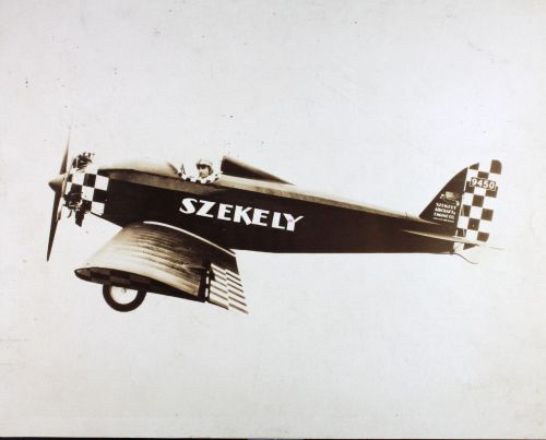Szekely Flying Dutchman by Szekely Aircraft And Engine Co. Holland-Michigan, 1928-1929. via SDASM