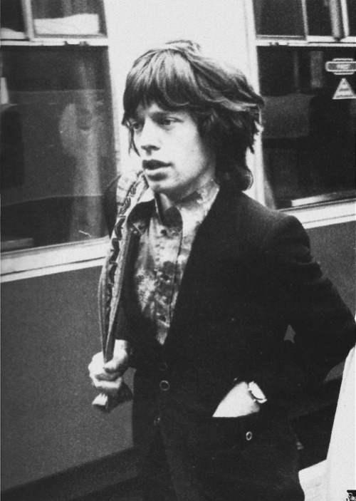 Mick Jagger in London, 1971