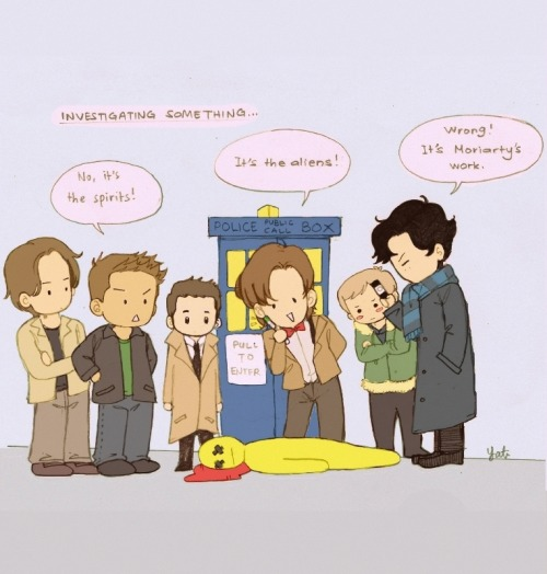 darlingbenny:  superwholock i don't think they will work well together tbh