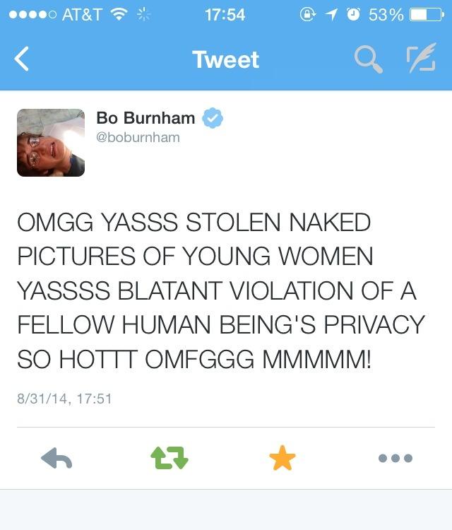 c0mf0rt-z0ne:  Bo Burnham speaking the truth