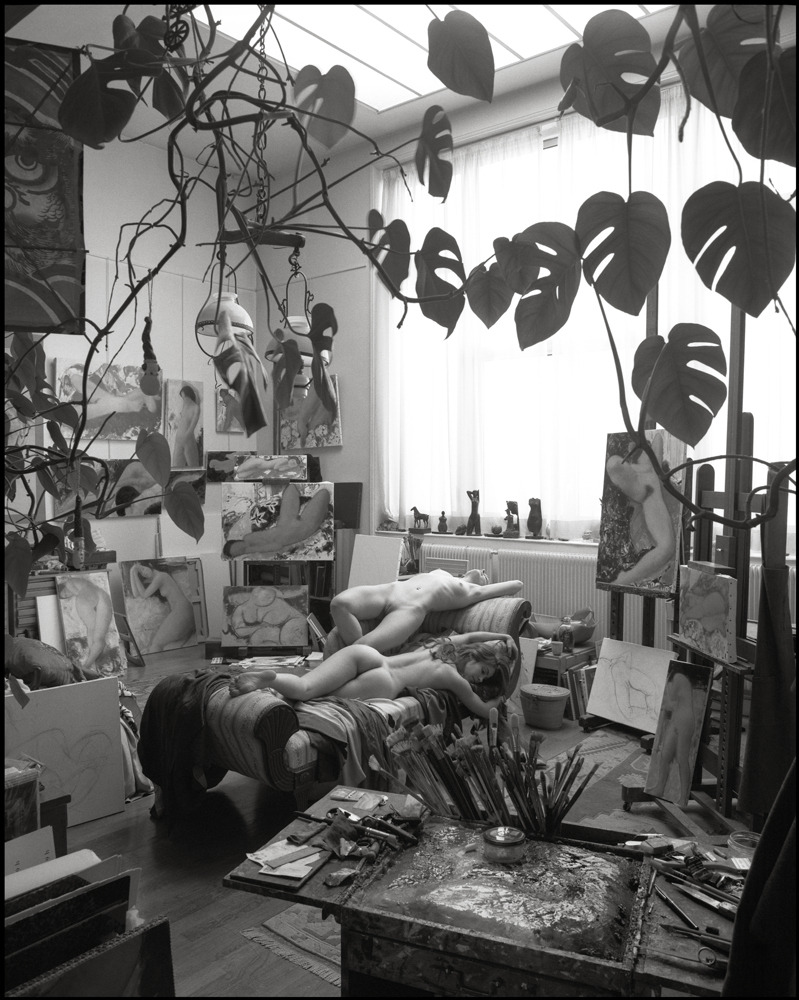 terramantra:  Mark Arbeit, Atelier Alain Bonnefoit #4, 2002   Yes, please!