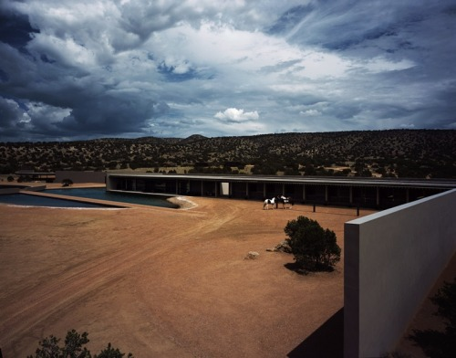 Tom Ford's Ranch in Santa Fe, by Tadao Ando.