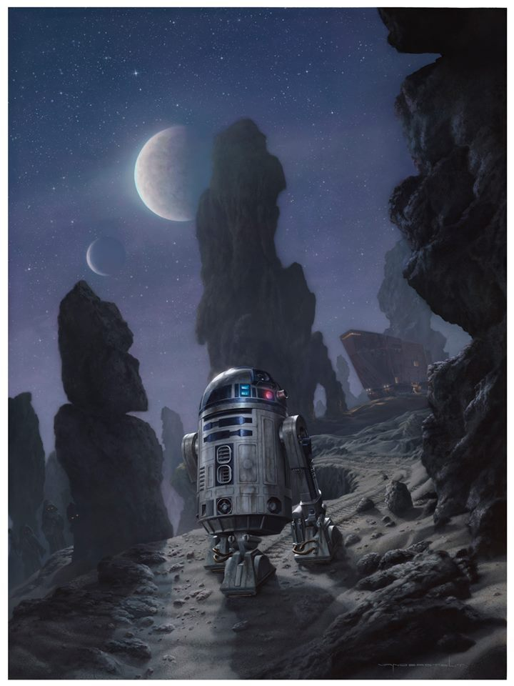 artover9000:  Artoo's Lonely Mission by Jerry Vanderstelt