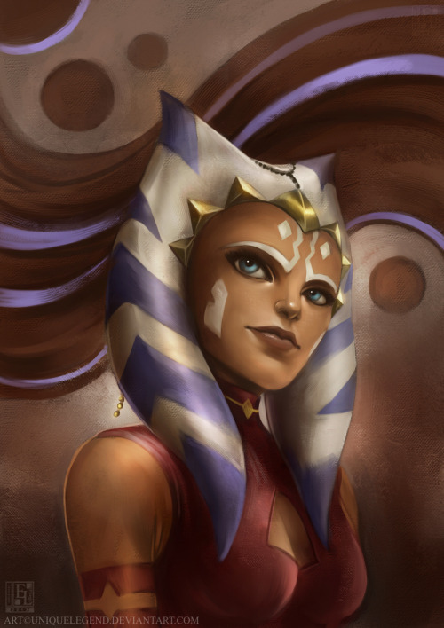 Ashoka Tano fanart from Star Wars: The Clone Wars. :) I need to catch up with the newer seasons though. xDMight do Obiwan next when I get the time.Done on Painter 11.