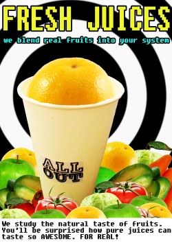 fresh badaboom juices at ALL OUT (@um_allout)